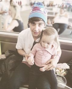 This is what it'll be like if I have a kid with Jai ;) @Jai Brooks
