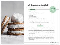 recipe layout - Google Search