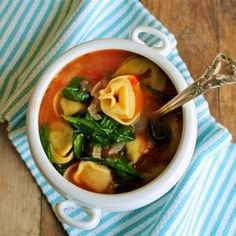 Another tortellini soup!!