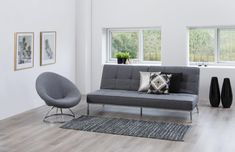 Canapea extensibila Perugia Grey Folding Sofa Bed, House 2, Home Office, Dining Bench, Love Seat, Accent Chairs, Branding Design, Couch, The Originals