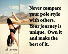 Don't compare yourself. Everyone's journey is unique.