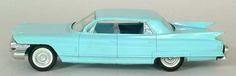 1961 Cadillac Fleetwood 4 Door Ht promo model