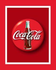 """Coca-Cola 6/"""" Ceramic Plate Saucer  Set of 5 So Refreshing Script Logo"""