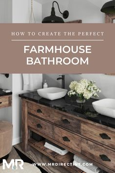 Your bathroom has been dark and dreary for too long! It's time to lighten it up and add a cozy feel with some farmhouse design inspiration. #bathroomremodel #bathroomideas #bathroommakeover #farmhousedecor #farmhousebathroom #bathroomdecor #farmhousedecorideas #farmhousebathroomideas #homedecor #renovation #remodel #bathroommakeover #bathroomideasonabudget Modern Bathroom Light Fixtures, White Bathroom Tiles, Modern Bathroom Decor, Bathroom Trends, Bathroom Wall Decor, Bathroom Styling, Bathroom Interior Design, Bathroom Furniture, Small Bathroom