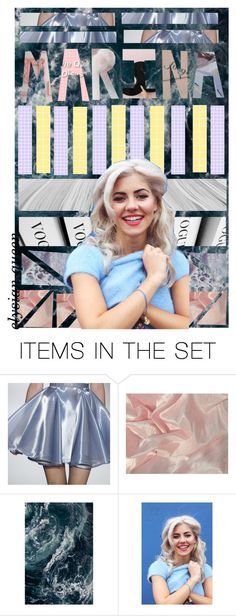 """Marina and the Diamonds (art)"" by elysian-queen ❤ liked on Polyvore featuring art, marinaandthediamonds, Original, pop and marinadiamondis"