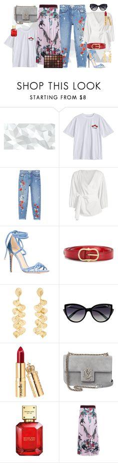 """Tried and True: Wardrobe Staples"" by zaful ❤ liked on Polyvore featuring MANGO, Alexandre Birman, Kenneth Jay Lane, La Perla, Alexander McQueen, Michael Kors and Morphe"