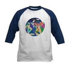 Tropical Creation Child's Baseball Jersey