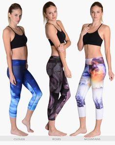 High Performance Fitness Leggings | WERKSHOP by Chriztina Marie - beautiful! Tight lovers need to check this out stat