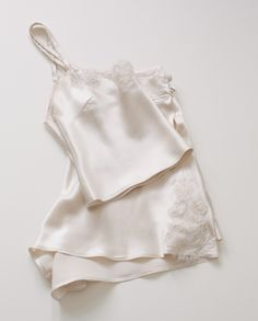 Love Deluxe Lingerie Lucille Silk Crop Cami/French Knicker Set