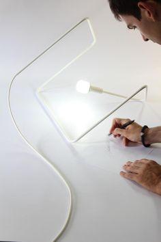 Dijana Adzemovic & Jelkovic + Vladimir Andjelkovic . linething lamp