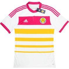 2014-15 Scotland Player Issue Adizero Away Shirt *BNIB*