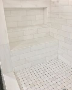 Discover much more information relating to Easy Diy Bathroom Remodel Bathroom Renos, Bathroom Flooring, Bathroom Renovations, Master Bathroom, Bathroom Ideas, Restroom Ideas, White Bathroom, Master Shower Tile, White Tile Shower