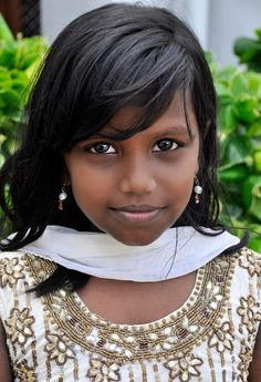 Young Girl in India by Joe Routon on 500px