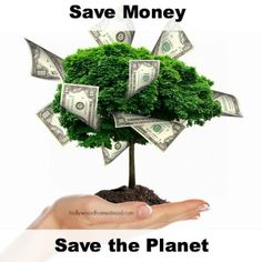 Save Money Save The Planet