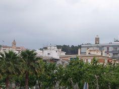 Vélez-Málaga.Cerro de la Fortaleza, uno de los dos en los que se encuentra ubicada esta plaza