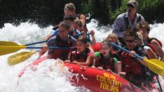 """Sun Country Tours' Big Eddy Thriller is advertised as approximately 1.25 hours of white water rafting """"Family Fun"""" with plenty of """"Whoo hoos!"""" #travel #adventure #Oregon"""