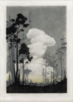 "Brooks Salzwedel - ""Layered Forest"""