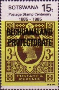 Bechuanaland/Botswana Postage Stamp Centenary
