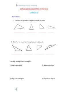 Actividades de geometría 3º primaria Algebra, Classroom, Education, Math, Geometry Activities, Primary Education, Class Room, Math Resources, Onderwijs