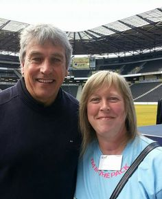 With John Inverdale @ RWC volunteer Workforce Kick Off in Milton Keynes