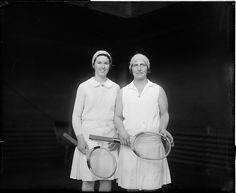 #Throwback 1930 winners: Hazel Hotchkiss Wightman & Sarah Palfrey Fabyan Cooke Danzig, US Indoor Championships, women's doubles #tennis #WTA
