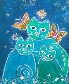 Cats made by Els 4.2014