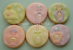 Perfume Bottle Cookies 3 by JILL's Sugar Collection, via Flickr