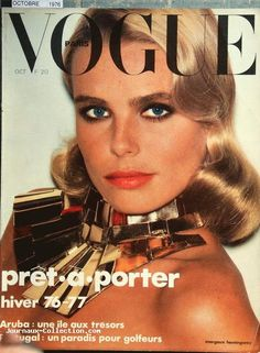 Margaux Hemingway, Vogue Paris, October 1976. Photo
