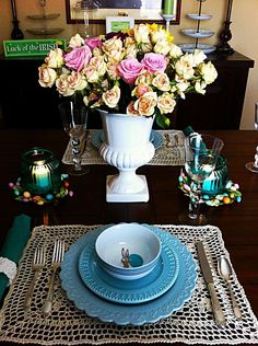 World Market Easter Table  - Kathe with an E  >> #WorldMarket Easter Style Hunt Sweepstakes. Enter to win a 1K World Market gift card.