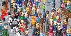 "Russia in ""Find the Cutes"" (look on Amazon or on www.findthecutes.com)"