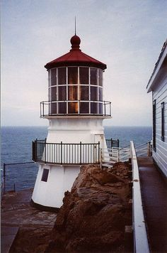 Lighthouse at Point Reyes National Seashore, California by msmail Lighthouse Lighting, Beacon Of Light, Light Of The World, Beautiful Places, Beautiful Lights, Places To Go, Around The Worlds, Building, Lighthouses
