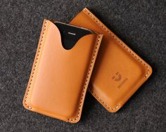 iPhone Leather Case - Blank