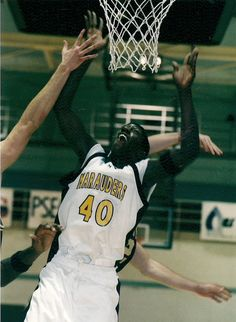 The men's basketball team opens its 2014-15 home slate in five days against Chestnut Hill. Today's #ThrowbackThursday is of Toochi Udeinya who was the PSAC East Rookie of the Year in 2001-02.