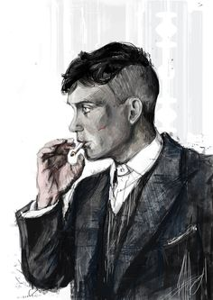Thomas Shelby by Irishmellow drawing, Thomas Shelby by Irishmellow on DeviantArt Peaky Blinders Poster, Peaky Blinders Wallpaper, Peaky Blinders Series, Peaky Blinders Quotes, Peaky Blinders Tommy Shelby, Peaky Blinders Thomas, Cillian Murphy Peaky Blinders, Arte Do Hip Hop, Popular Tv Series