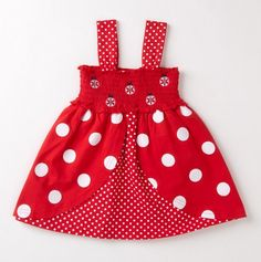 Toddler Smocked Ladybug Dress - $16.49