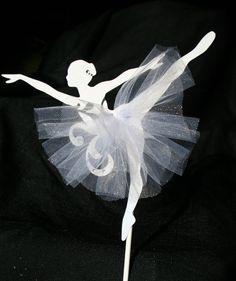 Ballett Tänzerin Cake Topper von ThePaperLot auf Etsy