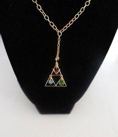 Zelda spirit stones earrings. Found on etsy