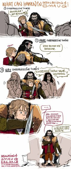 The Hobbit: What can Happen by applepie1989.deviantart.com on @DeviantArt