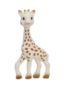 Sophie the giraffe teether. Every baby needs one of these. It's just adorable.