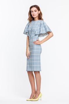 Swans Style is the top online fashion store for women. Shop sexy club dresses, jeans, shoes, bodysuits, skirts and more. Lovely Dresses, Simple Dresses, Casual Dresses, Vestidos Vintage, Western Dresses, Fashion Sewing, Work Fashion, Classy Outfits, Women's Fashion Dresses