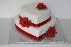 Heart Shaped Wedding Cakes, Heart Shaped Cakes, Violet Wedding Cakes, Cake Art, Art Cakes, Dear Crush, Heart Art, Celebration Cakes, Cake Designs