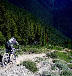 "British Columbia, Canada ""Psychosis: Dead Dog Start, Golden Cycling Club"""