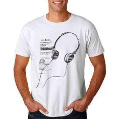 8382946452 Camiseta Masculina Nicolette Estampa Masculina