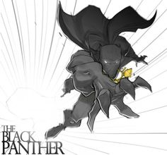 Black Panther by Chris Copeland.