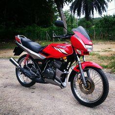 7 Imej Yamaha Rxz 135 Terbaik Motosikal Dan Biru