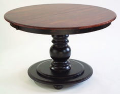 Hudson Large Round/Oval Pedestal Dining Table by Conrad Grebel - Home Gallery Stores
