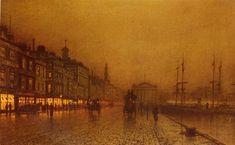 Greenock Dock - Grimshaw John Atkinson