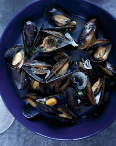 Mussels with White Wine and Butter - Martha Stewart Recipes