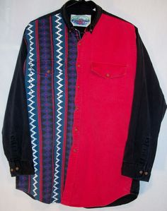 MWG Canadian Outdoors long sleeve button front western shirt XL cowboy rodeo  #MWGCanadianOutdoors #ButtonFront