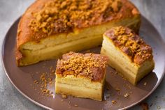 Gâteau magique : la recette facile aux spéculoos